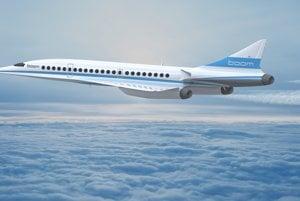 Prototyp nového nadzvukového lietadla Boom Technologies má vzlietnuť v roku 2017