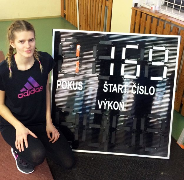 Celková víťazka Monika Zavilinská vyrovnala svoj vlastný rekord mítingu v kategórii dorasteniek.