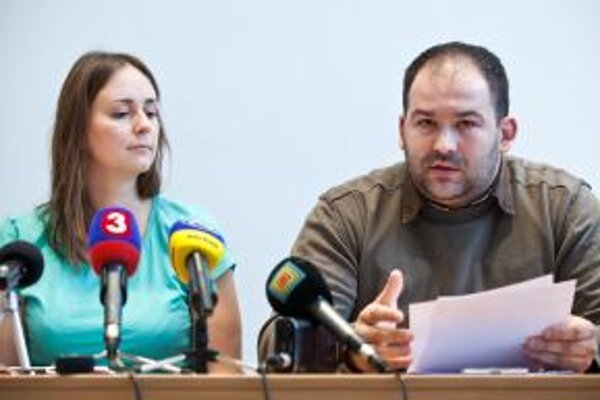 Lucia Gallová a Peter Pčolinský.