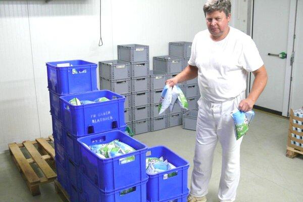 Mliekareň v Blatnici už spotrebuje všetko čerstvé mlieko.