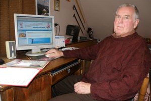 Jána Géciho baví zbieranie vtipov a práca na počítači.