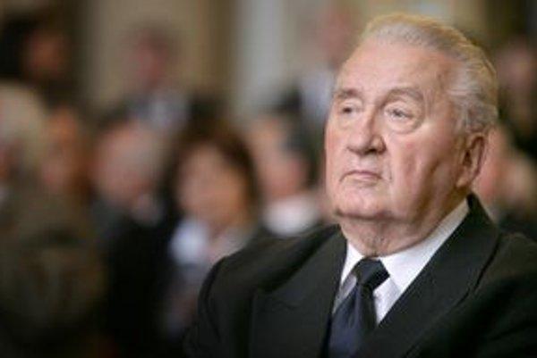 Exprezident Michal Kováč.