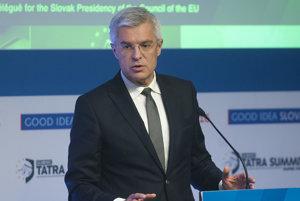 Ivan Korčok, splnomocnenec vlády SR pre predsedníctvo Slovenska v Rade EÚ.