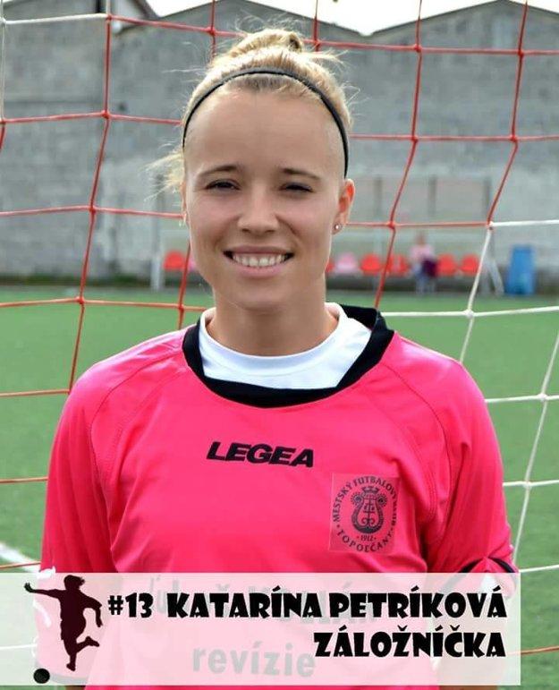 Katarína Petríková.