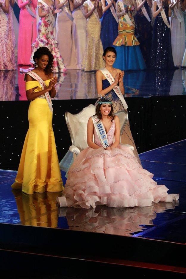 Najkrajšie dievčatá sveta. Druhé miesto získala kráska z Dominikánskej republiky. Indonézanka Natasha Mannuela si okrem tretieho miesta odniesla aj ďalšie ceny.