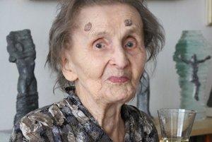Anna Zaťková. 102-ročná Prešovčanka.