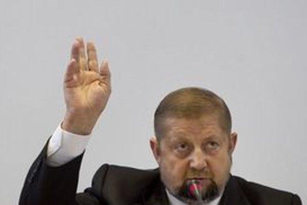 Predseda Súdnej rady Štefan Harabin.