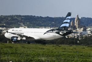 Airbus pristál na Malte.