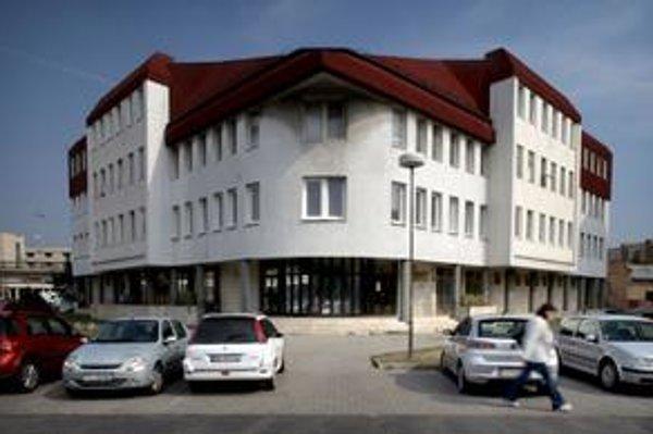 Súčasné sídlo daňového úradu v Trnave. Po reforme vraj bude malé.