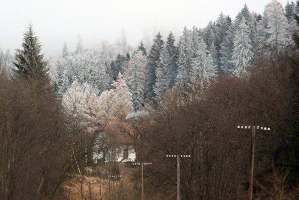 Zima v Podpoľaní.