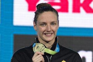 Katinka Hosszúová patrí medzi najlepšie plavkyne na svete.