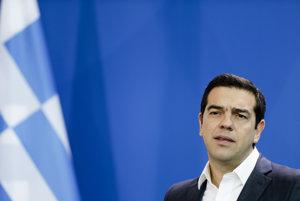Grécky premiér Alexis Tsipras