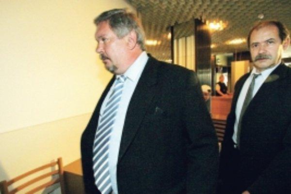 Miloš Kocúr (vľavo) a Milan Andrášik (vpravo) nepresvedčili slovenské súdy o svojej nevine.