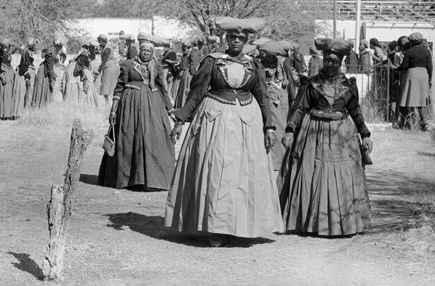 Ženy z kmeňa Herero.