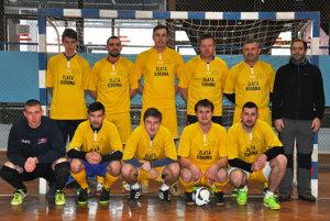 FC Debakel, víťaz jesennej časti Joma futsalovej Žirafa ligy Čadca.