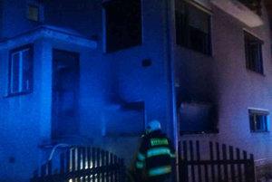 Požiar v Liptovskej Osade.