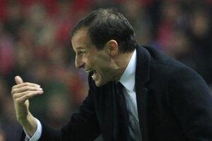 Massimilliano Allegri tvrdí, že je v Juventuse šťastný.