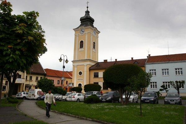 Krupinské Svätotrojičné námestie.