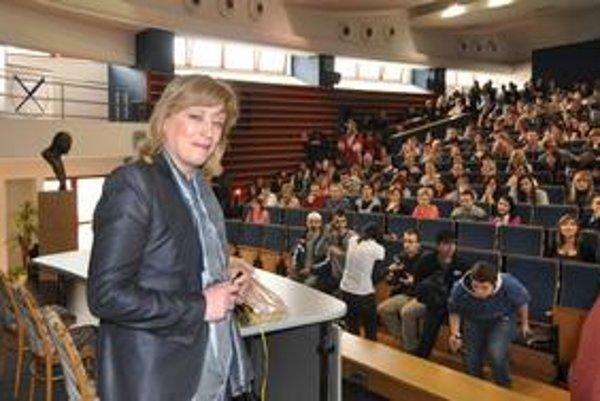 Iveta Radičová je profesorkou sociológie, pred vstupom do politiky prednášala vysokoškolákom.