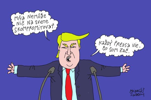 O Trumpovi vsjo jasno (Sliacky)