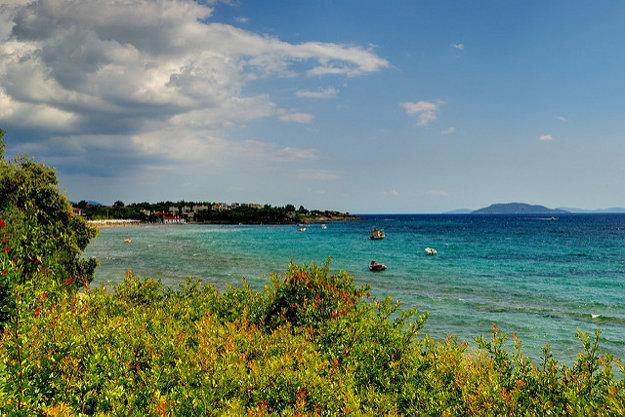Chalkidiki, Grécko.