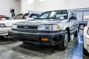 Táto Toyota Corolla z roku 1990 je prvým vozidlom vyrobeným v závode Toyota Motor Manufacturing Canada