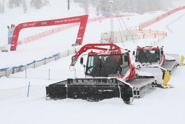 Podujatie v Altenmarkte komplikuje sneženie.