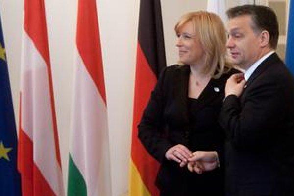 Premiérka Radičová na najnovšie vyjadrenia Viktora Orbána neodpovedala.