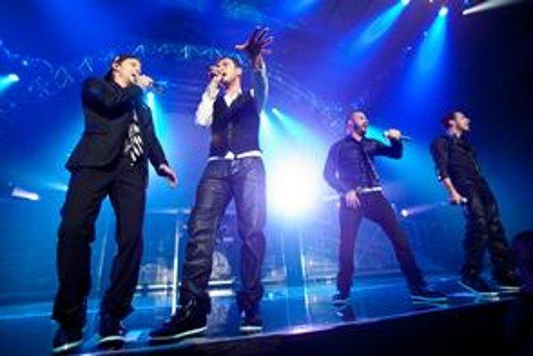 Backstreet boys dostali 238-tisíc eur