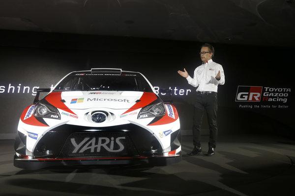 Toyota sa vracia do WRC.