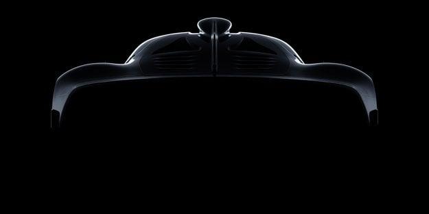 Mercedes AMG Hypercar - skica