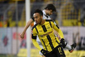 Pierre-Emerick Aubameyang je asi najväčšou hviezdou Borussie Dortmund.