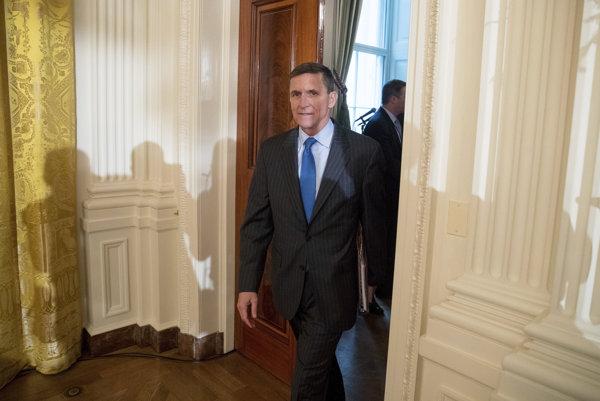 PRezidentov poradca vo veciach Národnej bezpečnosti Michael Flynn.