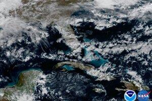Plytké vody v Karibiku.