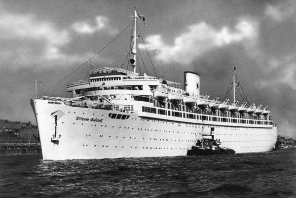 Loď Wilhelm Gustloff spustili na vodu v roku 1937.