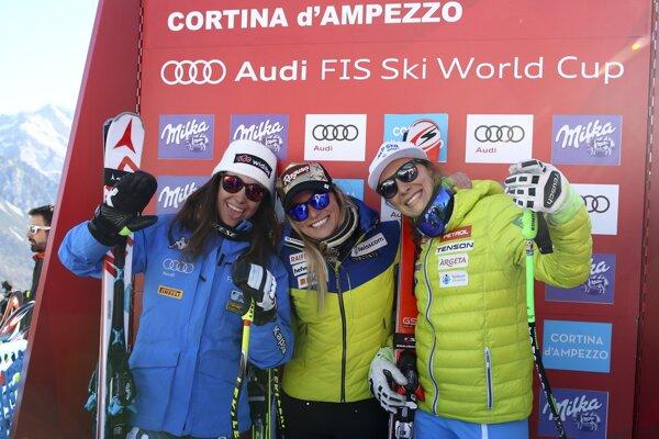 Lara Gutová triumfovala v Dolomitoch.