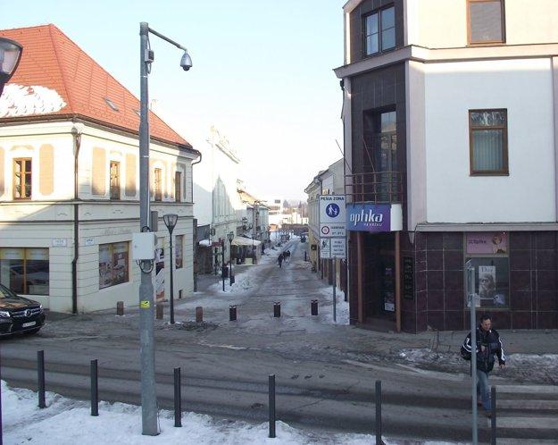 V Nitre je v súčasnosti 37 mestských kamier.
