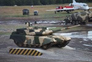 Tank T-90M.