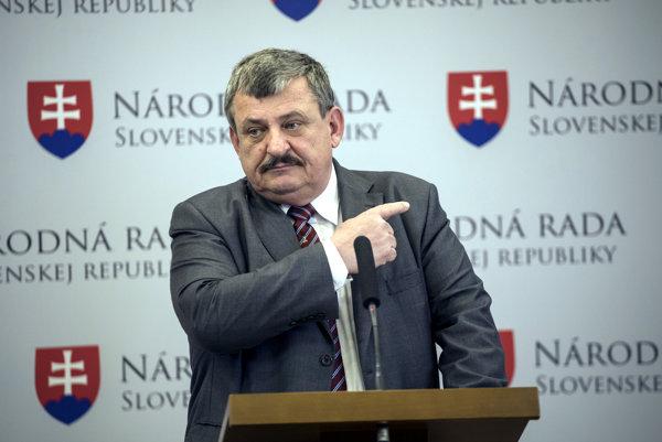 Poslanec NR SR Anton Hrnko.