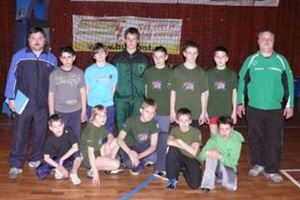 Mladší žiaci Prievidze vyhrali na  majstrovstvách Slovenska hodnotenie družstiev.