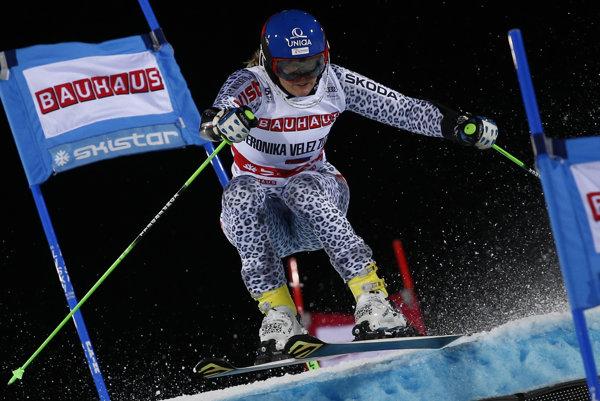 Veronika Velez-Zuzulová skončila v paralelnom slalome v Štokholme na druhom mieste.