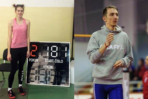 Monika Zavilinská si zlepšila osobný rekord, Lukáš Beer si vyrovnal svoje maximum.