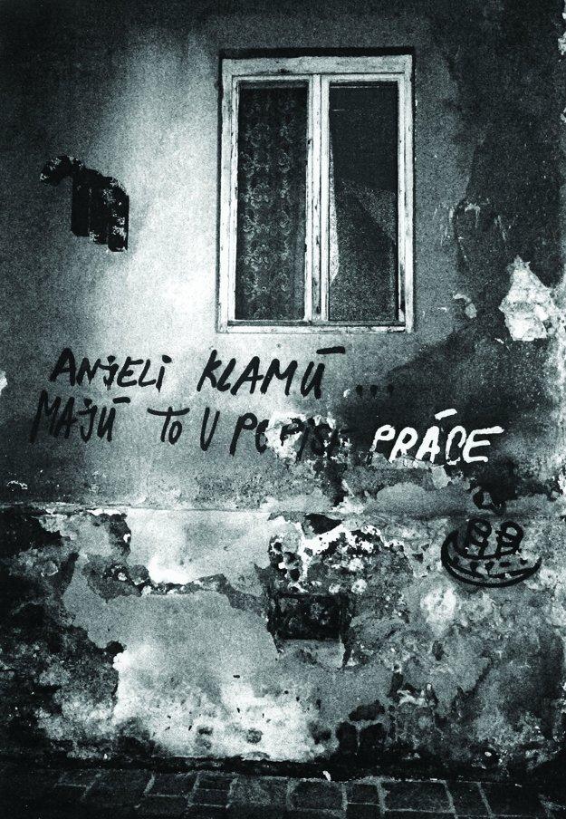 Snímky Lucie Ernekovej. V knihe nahrádzajú názvy kapitol.