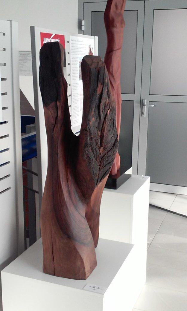 Jedna zo sôch J. Martiša.