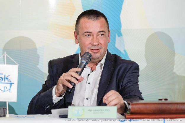 Mgr. Juraj Čief, konateľ Orto-Protetiky