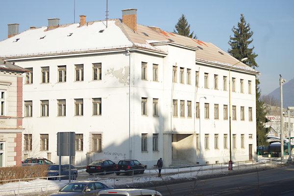 Budova vojenskej správy.