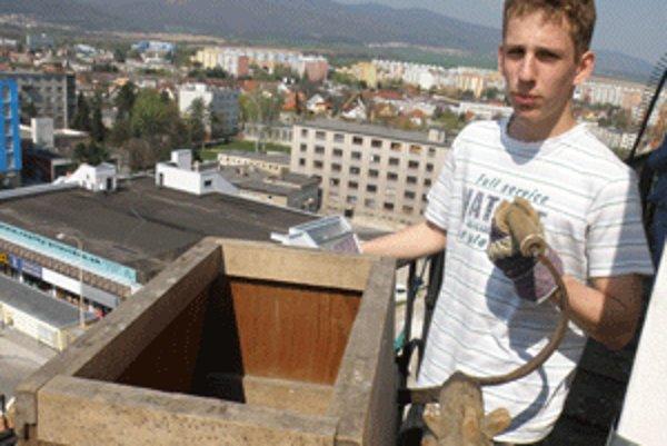 O rapkanie počas Veľkej noci sa na veži kostola stará aj Matúš Mokrý.
