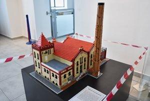 Budova Tatranskej galérie - historickej elektrárne v Poprade.