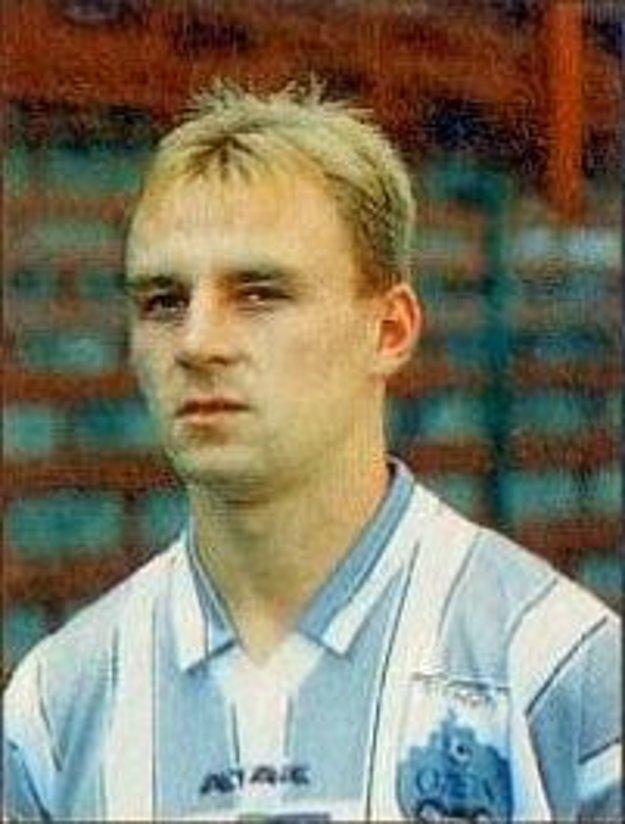 Peter Suchý počas pôsobenia v Ozete Dukle Trenčín (1997/98).