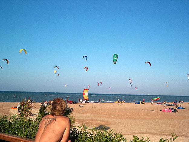 El Gouna, Egypt: Nájdete tu raj pre kitesurfing a ostatné vodné športy.